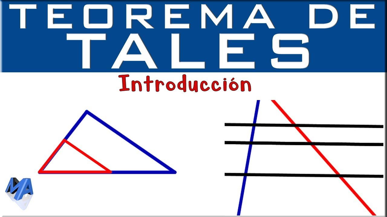 Teorema De Tales Introducción Youtube