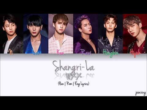 VIXX (빅스) – Shangri-La (도원경 (桃源境)) (Color Coded Han|Rom|Eng Lyrics)