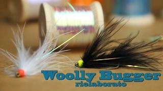 Come costruire Wooly bugger streamer per trote Pesca a mosca Istruzioni dressing Pipam Uv