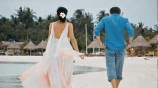 Креатив на Мальдивах 2012