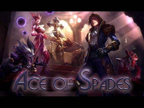 League of Legends: Ace of Spades Ezreal (Skin Spotlight ...