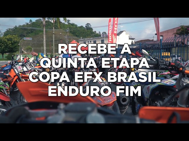 TEASER   QUINTA ETAPA COPA EFX BRASIL DE ENDURO   BRAGANÇA PAULISTA