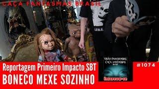 Boneco Mexe Sozinho - Caça Fantasmas Brasil #1074