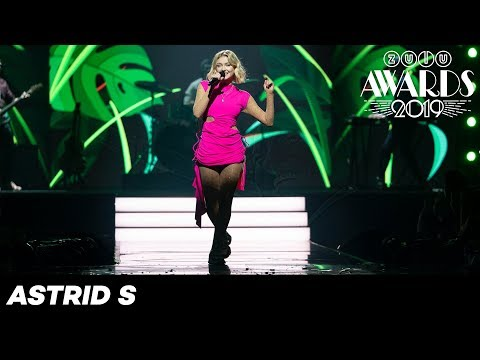 ZULU Awards 2019: Astrid S - Think Before I Talk & Someone New
