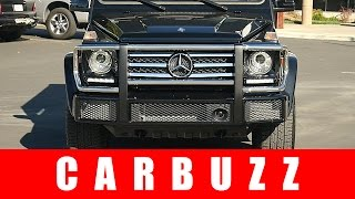 2016 Mercedes-Benz G550 Unboxing - The Original German SUV Icon