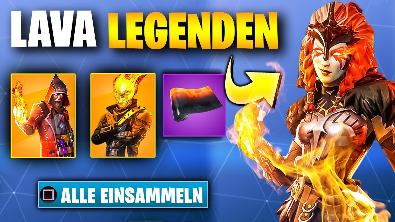 das neue lava legends skin bundle fortnite season 8 leak - new lava pack fortnite price