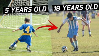 LOOK AT HOW THIS KID CHANGED OVER 13 YEARS
