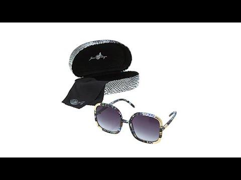 aa7f4f8fac50 Joan Boyce Oversized Square Frame Sunglasses - YouTube