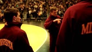 Gopher Wrestling 2013-14: No. 4 Minnesota knocks off No. 2 Iowa, 19-15