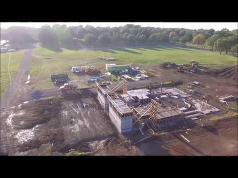Holy Trinity Mausoleum Construction Progress- 9/19/2017- Mt. Calvary Cemetery-Topeka, KS