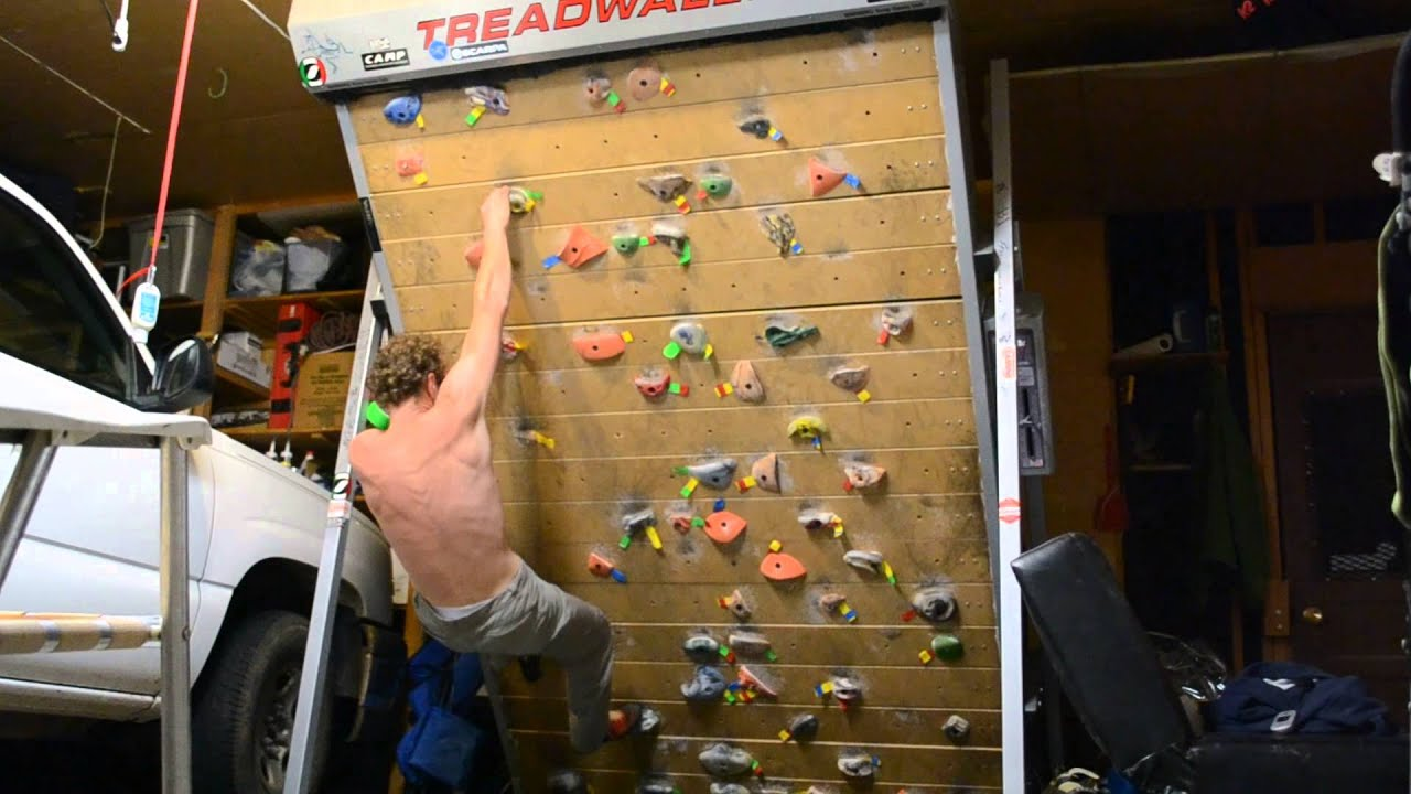 photo The Treadwall M4 Puts Rock Climbing Into The Home Gyms Of Guys
