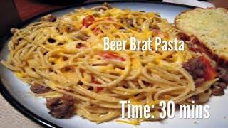 Beer Brat Pasta Recipe