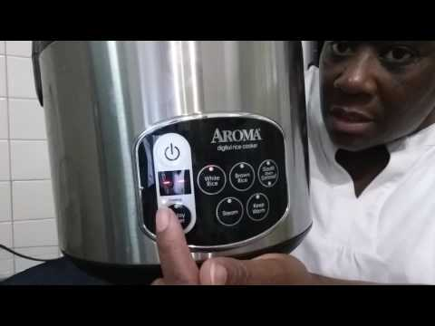 """""""Requested"""" Video Of How My AROMA Rice Cooker Works♡ (Review) Pt. 1 Of 2"""