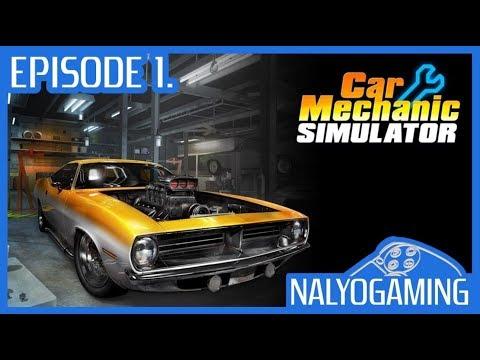 CAR MECHANIC SIMULATOR, PS4 Gameplay First Look