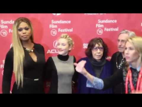 Sundance Film Festival: Laverne Cox, Lily Tomlin, and cast at Grandma Red Carpet