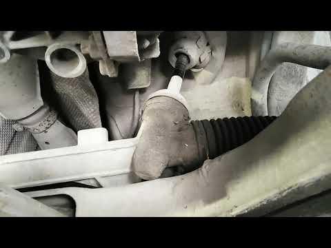 Nissan кашкай замена втулки рулевой рейки