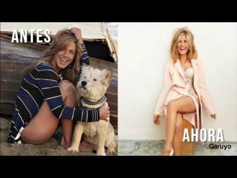 Jennifer Aniston antes y después | Jennifer Aniston fotos letöltés