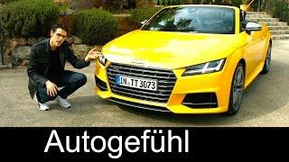 2015/2016 All-new Audi TTS Roadster test drive REVIEW - Autogefühl