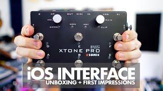 XSonic XTone Pro - multi purpose Audio/MIDI Interface...Unboxing & First Impressions