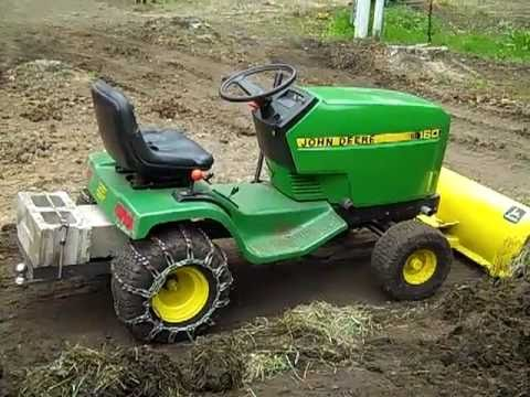 hqdefault john deere 160 5 speed peerless transmission installed youtube