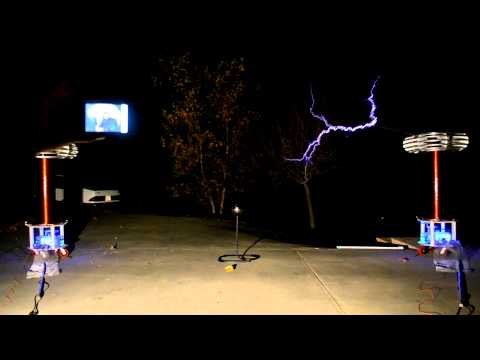 """House Of the Rising Sun"" - Musical Tesla Coils + Randomness"