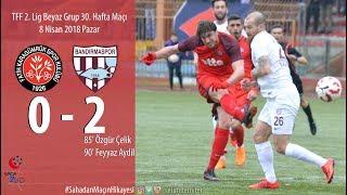 Karagümrük 0-2 Bandırmaspor (Sahadan Maçın Hikayesi)