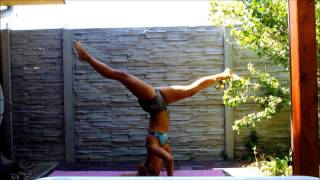 MY HEADSTAND PRACTICE