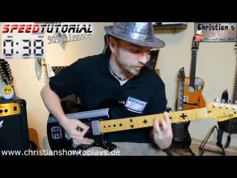 ≈ Speedtutorial 90 Sek. Lesson ≈ Die Ärzte Unrockbar | Deutsch Gitarren Tutorial