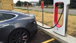 ¿Se puede cargar un Tesla en sólo 20 minutos?