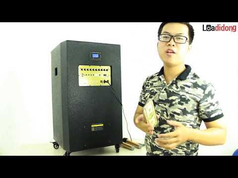 REVIEW CHIẾC LOA KÉO CÔNG SUẤT LỚN SHUPO BT3298