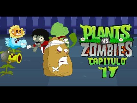 La aventura de plantas vs zombies 17 youtube for Cuartos decorados de plants vs zombies