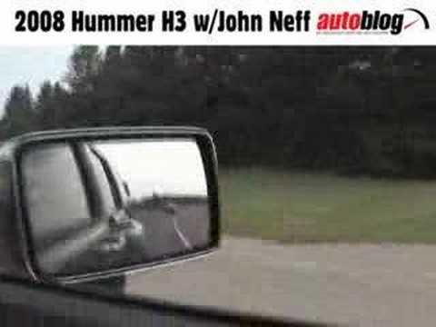 2008 Hummer H3 Alpha Autoblog drive