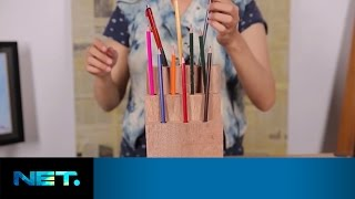 Diy - Wooden Pencil Holder | Dsign | Netmediatama
