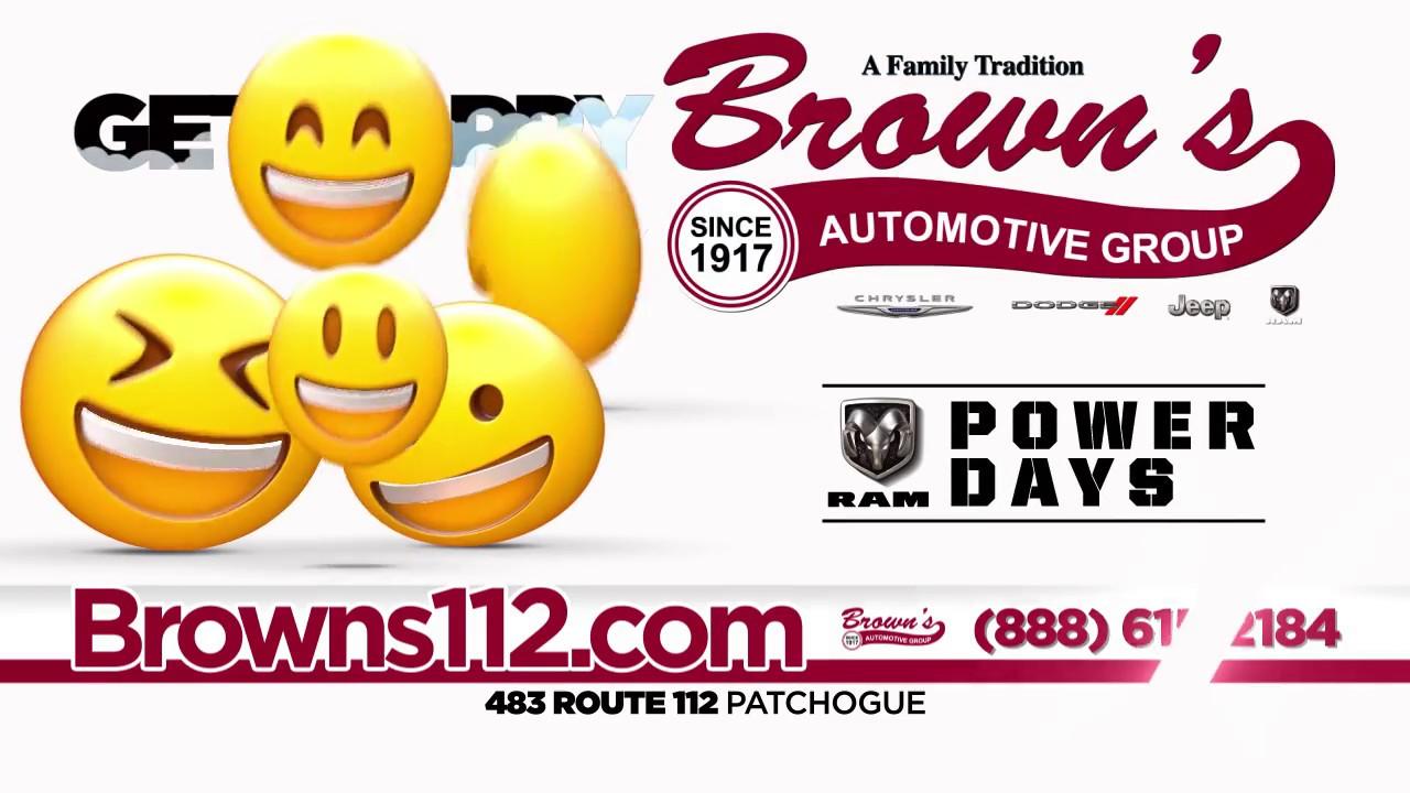 Brown'S Chrysler Jeep >> Ram Power Days At Brown S Chrysler Dodge Jeep Ram