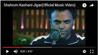 Shahrum Kashani-Jigar(Official Music Video)