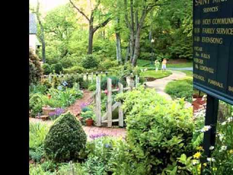 English cottage garden ideas youtube for Show me garden designs
