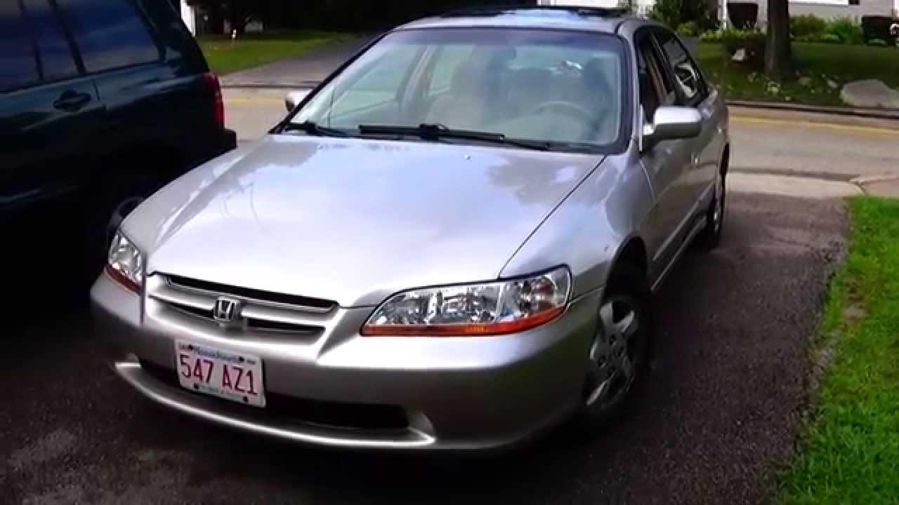 1998 Honda Accord Ex 2 3l Walkaround Full Tour Youtube