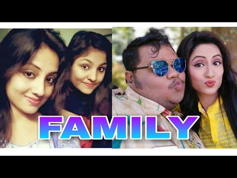 Ollywood Actress Riya Dey unseen family...