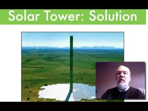 solar tower problem (physic solution)