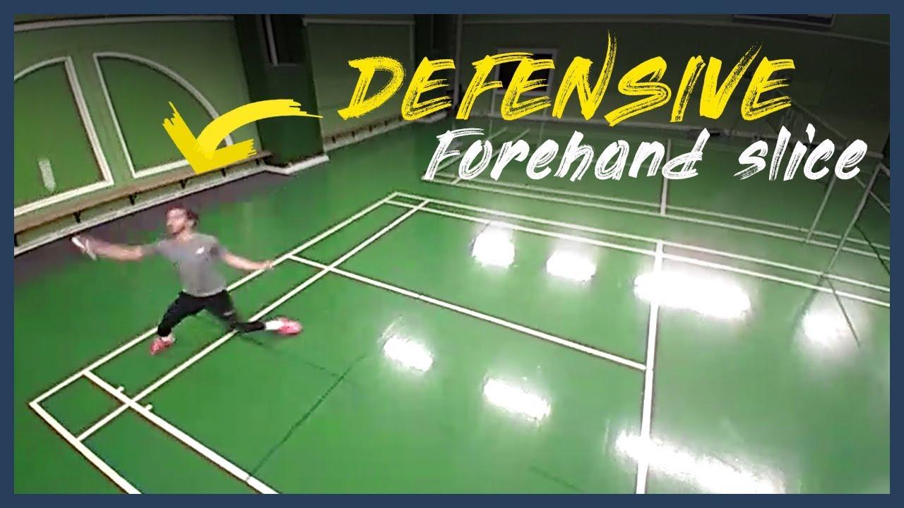 MUST LEARN badminton shot in singles - Defensive forehand ...