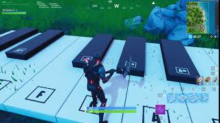 mario theme song with fortnite piano - alia fortnite intro song 1 hour