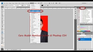 Cara Terbaru dan Mudah Membuat Action di Photoshop CS4