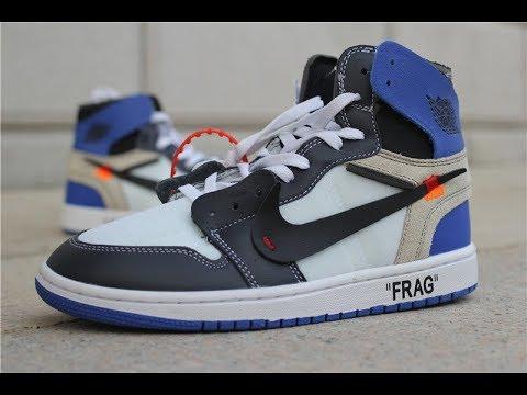 Air Jordan 1 Off-White x Fragment Retro