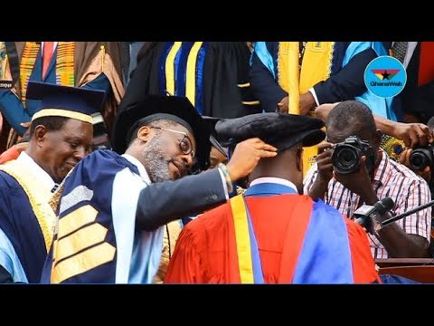 UPSA confers honorary Doctorate Degree on Osei Kyei Mensah-Bonsu