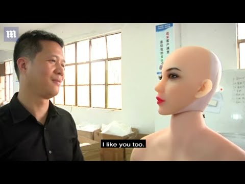 Chinese company WMDOLL develops AI-powered 'smart dolls(romantic doll)