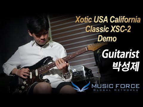 [MusicForce] Xotic USA California Classic XSC-2 Demo - 'The Wind Cries Mary' By Guitarist '박성제'