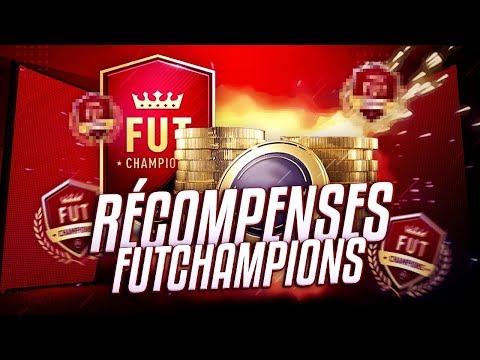 FIFA 18 - RECOMPENSES FUTCHAMPIONS [39-1] : 4 PACKS A 100 + 1 EDS ULTIME