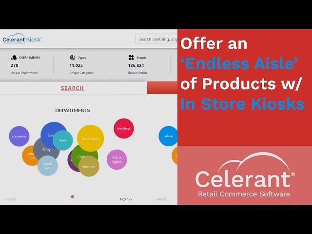 Offer an 'Endless Aisle' of Products with In Store Kiosks