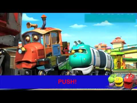 Chuggington - Pushing Team Song - Karaoke! (US)