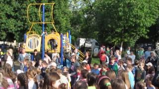Киев: Детские Игры и Праздник на Ленинградской площади, 18 мая 2014 г.